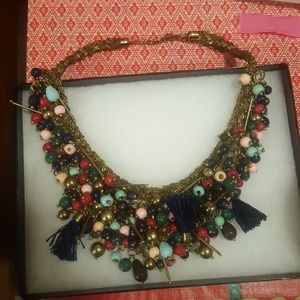 Anthro bauble necklace!!